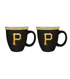 Boelter Brands MLB® Pittsburgh Pirates 2-Pack Bistro Mugs