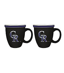 Boelter Brands MLB® Colorado Rockies 2-Pack Bistro Mugs