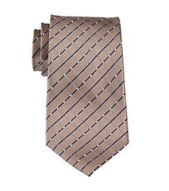 Geoffrey Beene Big & Tall City Grid Tie