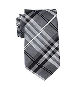 Geoffrey Beene Big & Tall Petros Plaid Tie