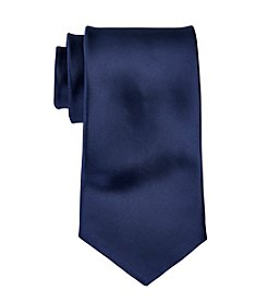 Geoffrey Beene Big & Tall Satin Solid Tie