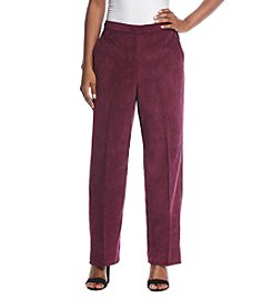 Alfred Dunner Petites' Wale Pant