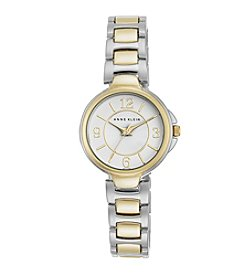 Anne Klein® Two-Tone Bracelet Link Watch
