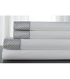 Elite Home Products Adara Sheet Set