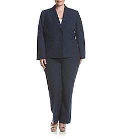 LeSuit® Plus Size Jacket And Pant Suit