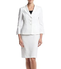 LeSuit® Jacket And Skirt Suit