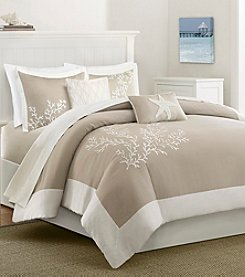 Harbor House Coastline Cotton 5-Piece Duvet Cover Set with Embroidery