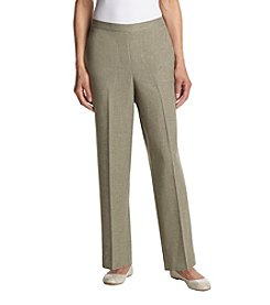 Alfred Dunner® Petites' Stretch Waistband Pants