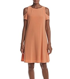 Nine West® Cold Shoulder Flared Dress