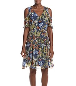 Nine West® Floral Fit & Flare Dress