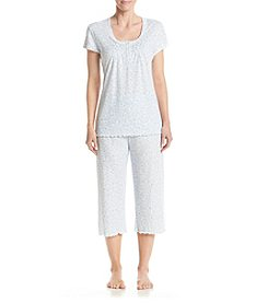 Miss Elaine® Scroll Printed Pajama Set