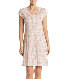 Miss Elaine® Printed Nightgown