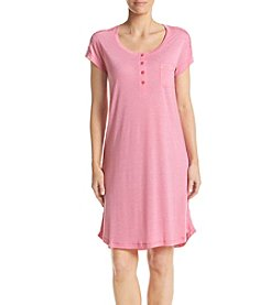 Miss Elaine® Lace Trim Nightgown