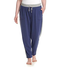 KN Karen Neuburger Plus Size Live Love Pajama Side Stripe Pants