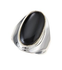 Marsala Oval Onyx Ring