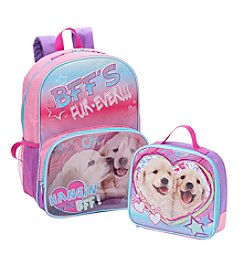 Nickelodeon® Puppies Backpack With Lunch Box