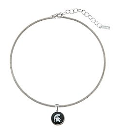 accessory PLAYS™ NCAA® Michigan State Spartans Choker Pendant Necklace