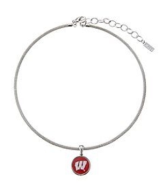accessory PLAYS™ NCAA® Wisconsin Badgers Choker Pendant Necklace