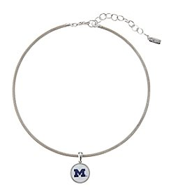 accessory PLAYS™ NCAA® Michigan Wolverines Choker Pendant Necklace