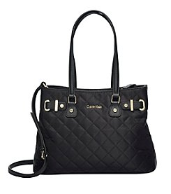 Calvin Klein Florence Quilted Nylon Tote