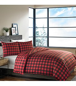 Eddie Bauer® Mountain Plaid Duvet Cover & Sham Set