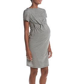 Three Seasons Maternity™ Knotted Knit Dress