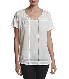 Breckenridge® Peasant Knit Top