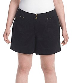 One 5 One® Plus Size Cargo Shorts