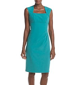 Adrianna Papell® Pleated Sheath Dress