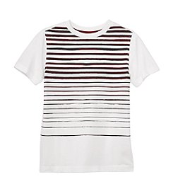 Ruff Hewn Boys' 8-20 Striped Crewneck Tee