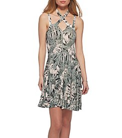 Jessica Simpson Tropical Swing Dress