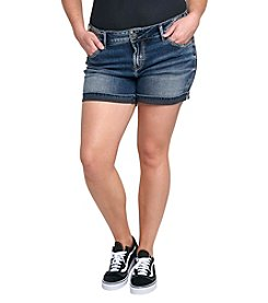 Silver Jeans Co. Plus Size Elyse Cuffed Shorts