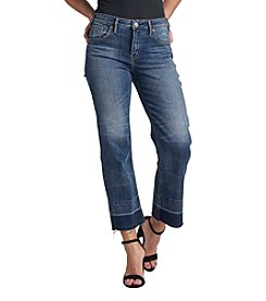 Silver Jeans Co. Izzy Wide Leg Crop Jeans