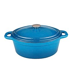 BergHoff® Neo 8-quart Cast Iron Oval Covered Casserole
