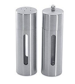 BergHoff® Straight Line Round 2-Piece Salt & Pepper Mill Set