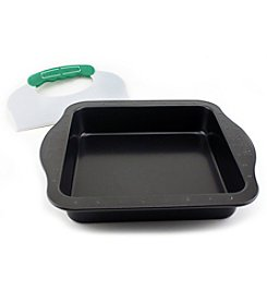 BergHoff® Perfect Slice Square Cake Pan with Cutting Tool