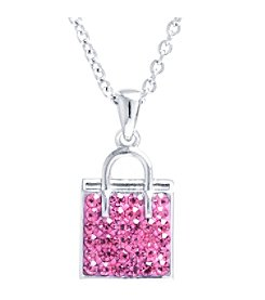 Athra Crystal Shopping Bag Pendant