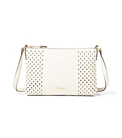 Lauren Ralph Lauren® Tasmine Perforated Crossbody Bag