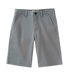 Calvin Klein Jeans Boys' 8-20 Motion Flat Front Shorts