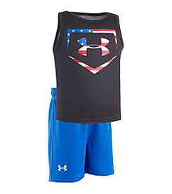 Under Armour® Baby Boys' Baseball Americana Set