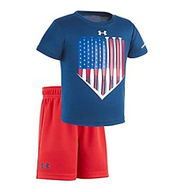 Under Armour® Baby Boys' American Batter Set