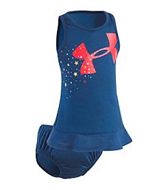 Under Armour® Baby Girls' Newborn-24M Star Spangled Dress Set