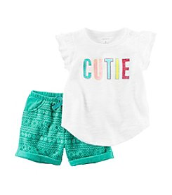 Carter's® Baby Girls' Cutie 2-Piece Set