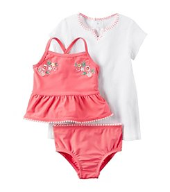 Carter's® Baby Girls' 3-Piece Tankini Set