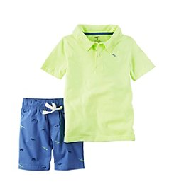 Carter's® Boys' 2T-4T 2-Piece Shorts Set