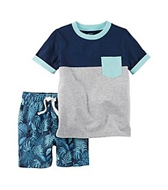 Carter's® Boys' 2T-4T 2-Piece Short Set