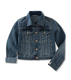 Calvin Klein Jeans Girls' 7-16 Denim Jacket