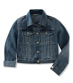 Calvin Klein Jeans Girls' 2T-6X Denim Jacket