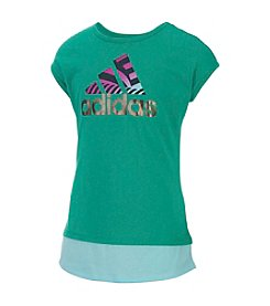 adidas® Girls' 7-16 Run Wild Top