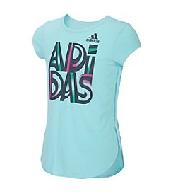 adidas® Girls' 7-16 Game Time Tee
